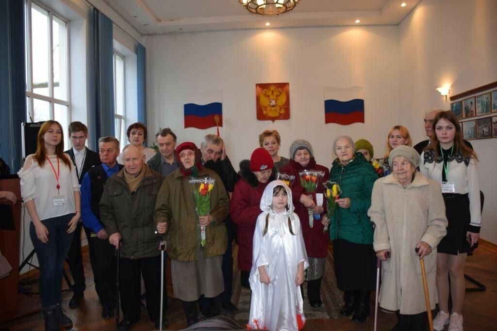 Вручение медалей в честь 75-летия Великой Победы