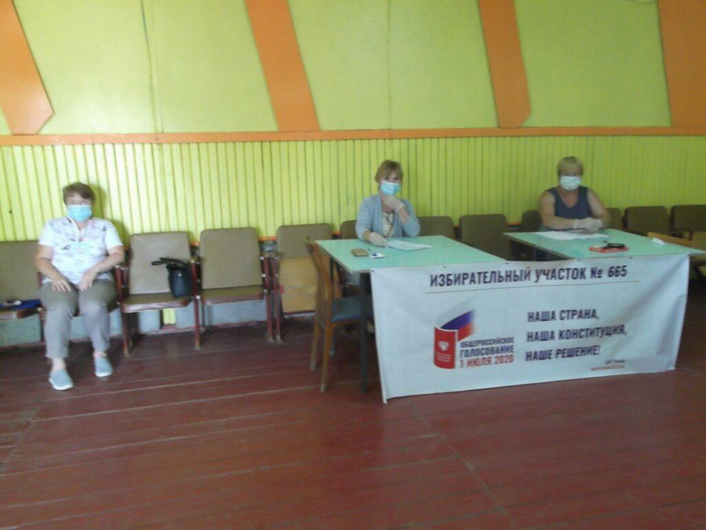 Селяне голосуют за поправки