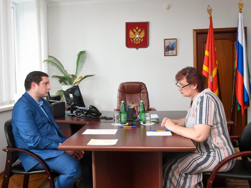 Губернатор оценил перспективы  развития Сычевского района