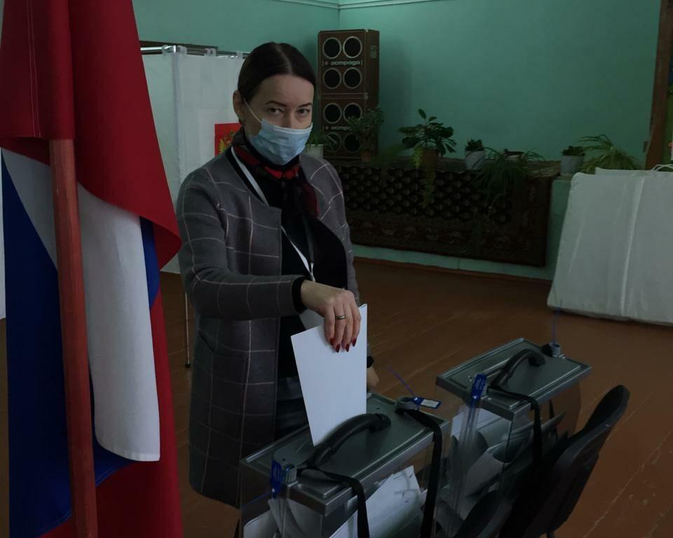 Сычевка голосует