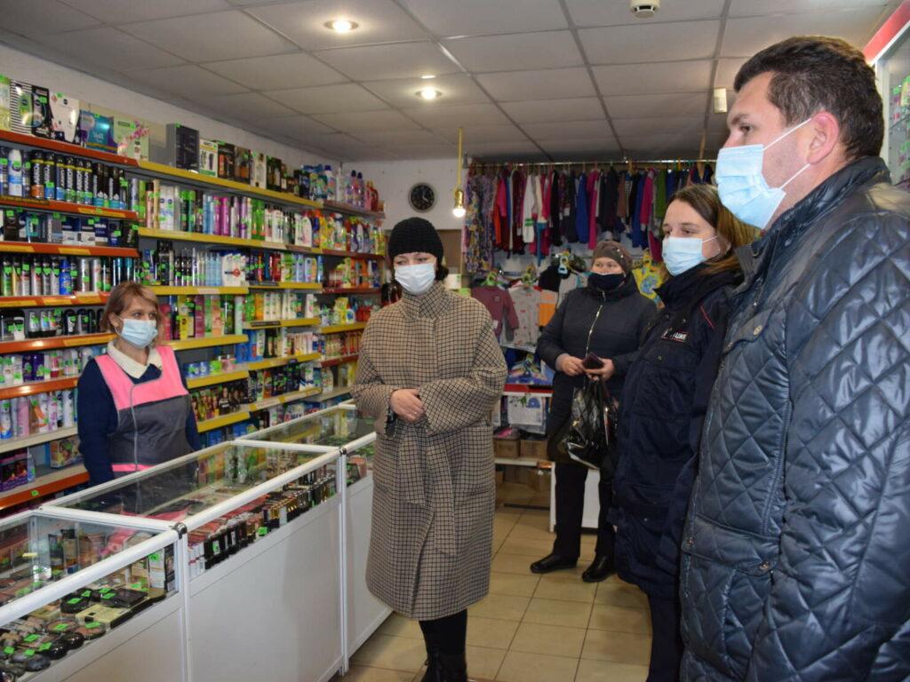 Масочный режим в Сычевке соблюдается